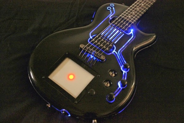 My Personal Take On This Guitar Is That Its A Great Concept And Executed Fairly Well But I Would Like To Have Seen Some Kind Of TRON Design Up